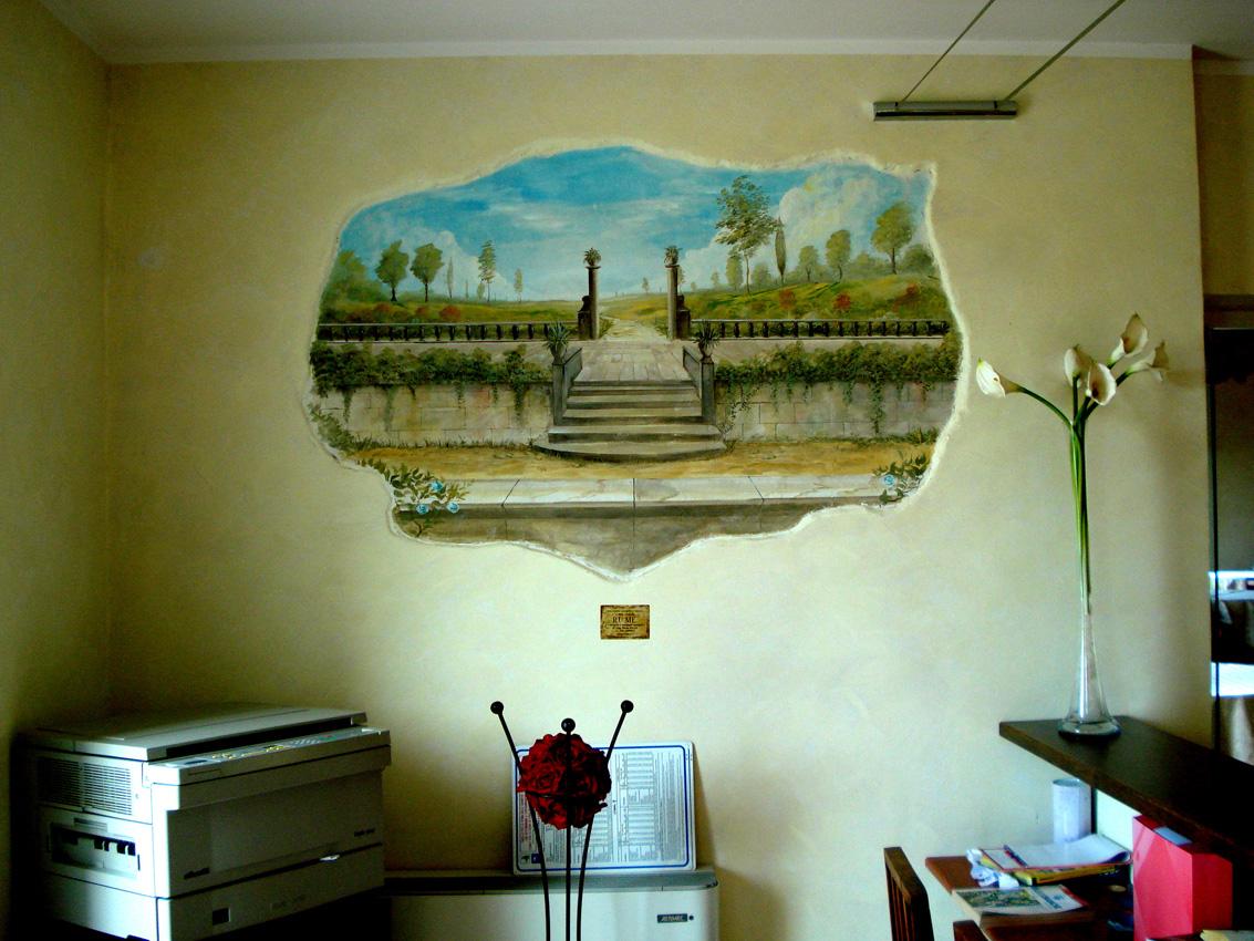Borgo degli Ulivi – Sorso – Affreschi e rivestimenti in pietra ricostruita