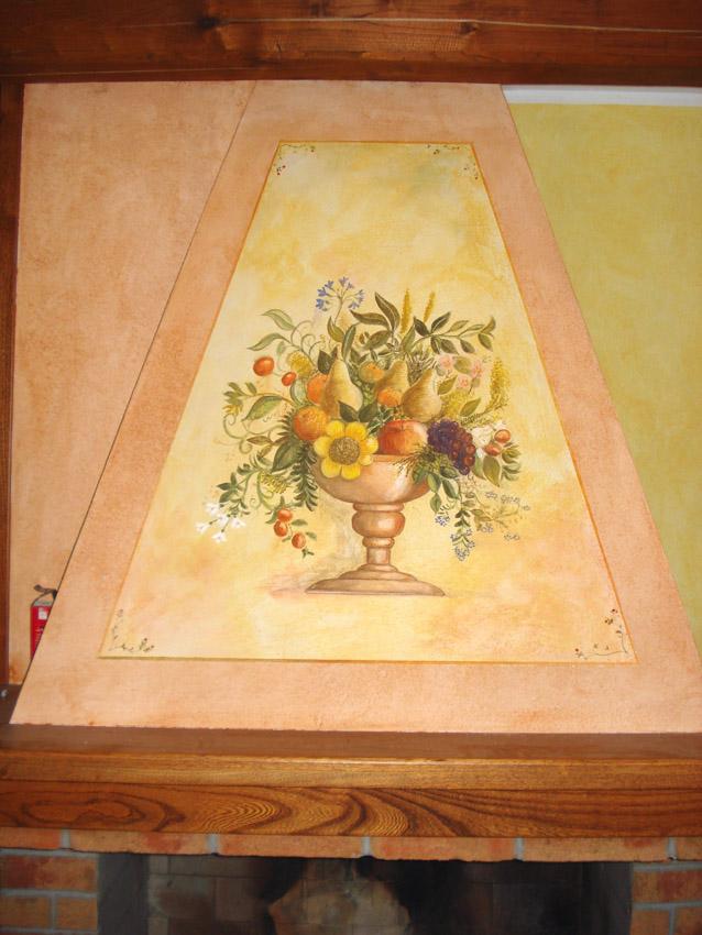 Abitazione privata osilo decorazioni pittoriche e for Decorazioni per cappe da cucina