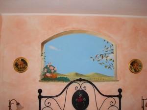 Trompe l oeil finestra ru me realizzazioni di ambientazioni realistiche - Trompe l oeil finestra ...