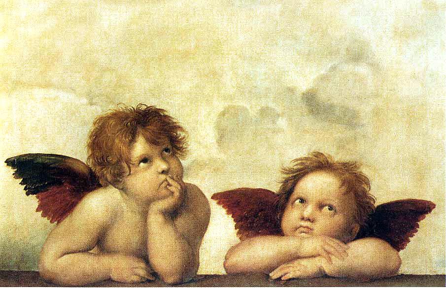 Affreschi: Putti, Angeli e a tema religioso