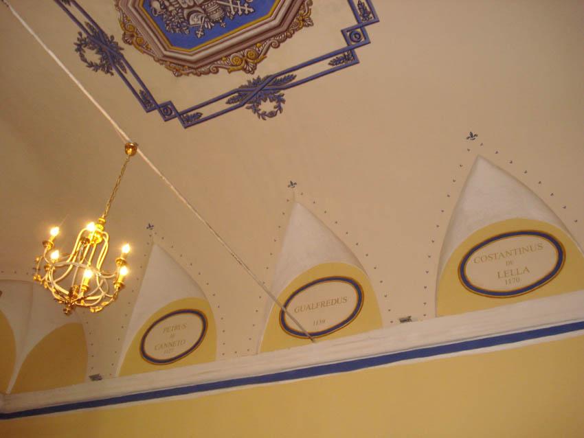 decorazione sacrestia
