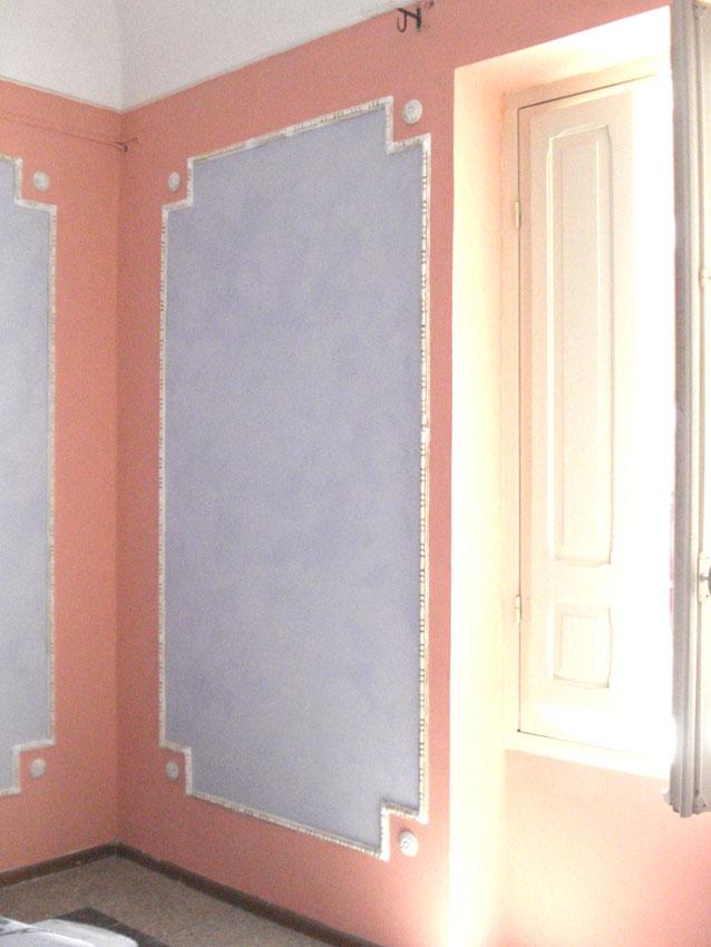 Abitazione privata – Decorazione art Decò con stucchi