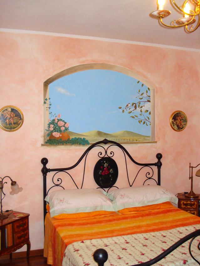 Abitazione privata – Decorazioni murali e trompe l'oeil