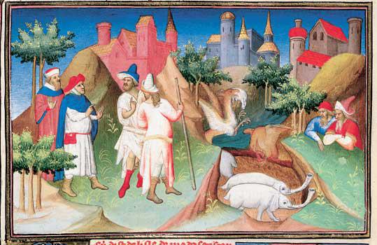 Affreschi medievali e miniature